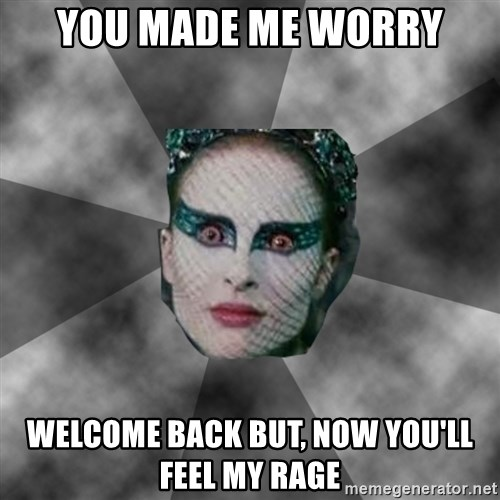Black Swan Eyes - You made me worry welcome back but, now you'll feel my rage