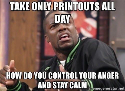 kevin hart bro - TAKE ONLY PRINTOUTS ALL DAY HOW DO YOU CONTROL YOUR ANGER AND STAY CALM