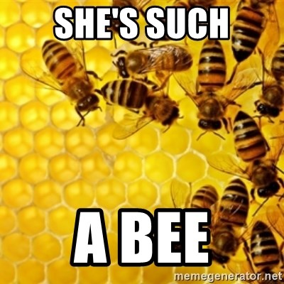 Honeybees - She's such A bee