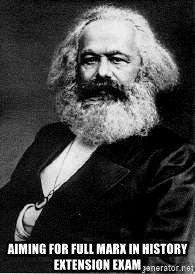 Marx -  Aiming for full Marx in History Extension Exam