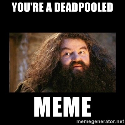 You're a Wizard Harry - You're a deadpooled MEME