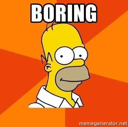 Homer Advice - boring