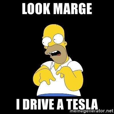 look-marge - Look marge I drive a tesla