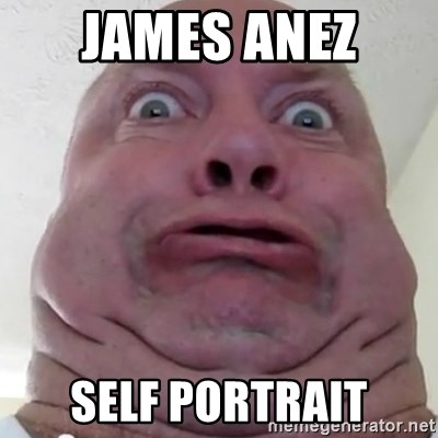 Ugly but Beautiful - James Anez  Self Portrait