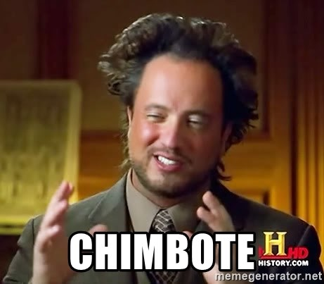Ancient Aliens -  chimbote