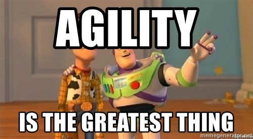 WoodyAndBuzz - Agility  is the greatest thing