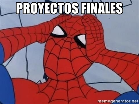 Hungover Spiderman - Proyectos finales