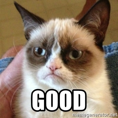 Grumpy Cat  -  Good