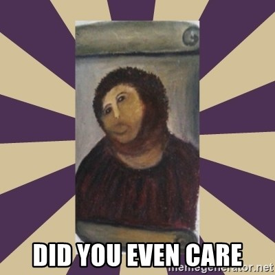 Retouched Ecce Homo -  did you even care