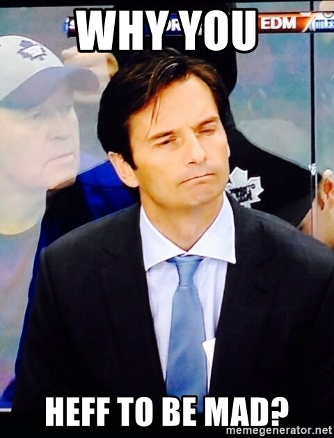 Dallas Eakins - WHY YOU HEFF TO BE MAD?