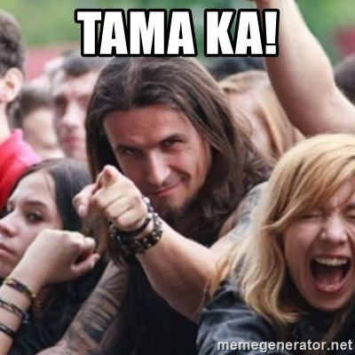 Ridiculously Photogenic Metalhead - tama ka!