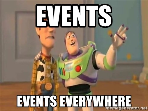 X, X Everywhere  - EVENTS eVENTS EVERYWHERE