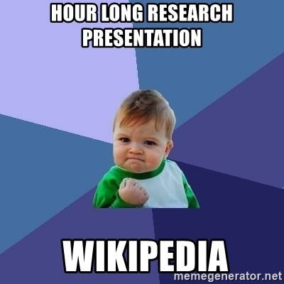 Success Kid - Hour Long Research Presentation  Wikipedia