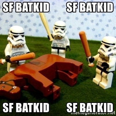 Beating a Dead Horse stormtrooper - SF batkid        sf batkid sf batkid        sf batkid
