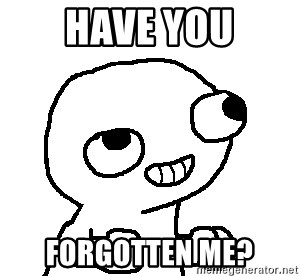 Fsjal - Have you forgotten me?