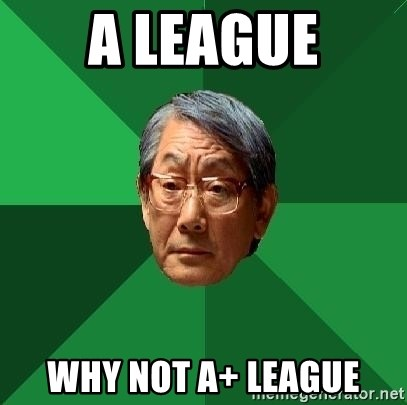High Expectations Asian Father - A League Why not A+ League