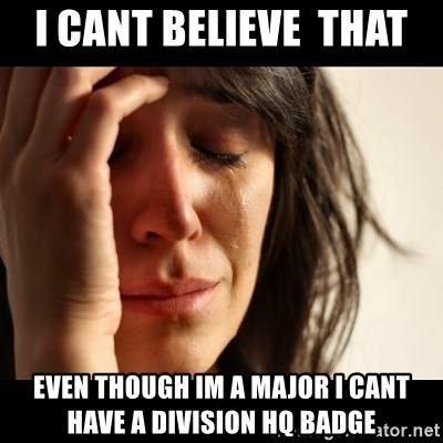 crying girl sad - I cant believe  that  Even though im a major i Cant have a division hq badge