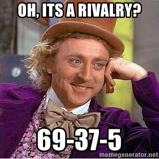 Willy Wonka - Oh, its a rivalry? 69-37-5