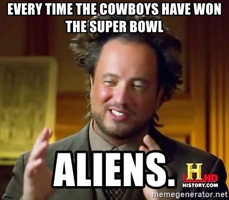 Giorgio A Tsoukalos Hair - Every time the Cowboys have won the Super Bowl ALIENS.