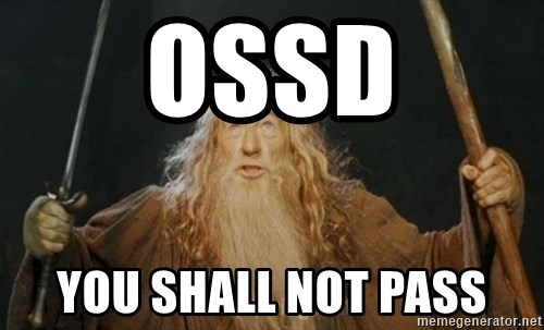 You shall not pass - OSSD You shall not pass