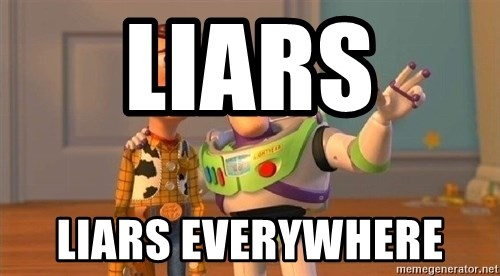 Consequences Toy Story - Liars  Liars Everywhere