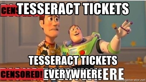 Toy Story Everywhere - Tesseract tickets Tesseract tickets everywhere