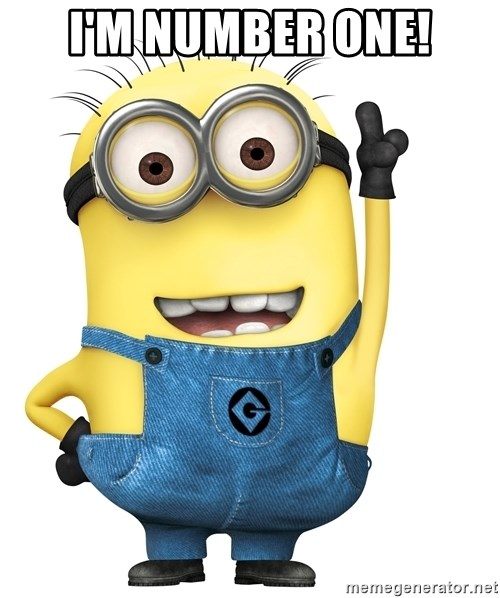 Despicable Me Minion - I'm number one!