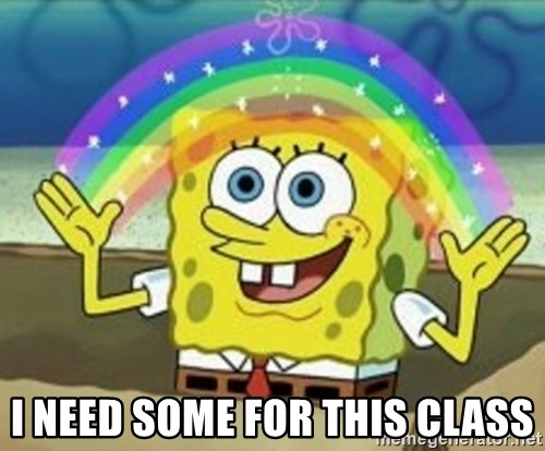 Spongebob -  I NEED SOME FOR THIS CLASS