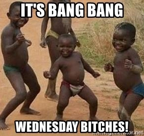 african children dancing - It's bang bang wednesday bitches!