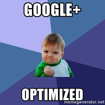 Success Kid - Google+ Optimized