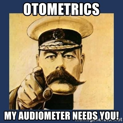 your country needs you - Otometrics My Audiometer needs you!