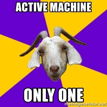 Premed Goat - active machine only one