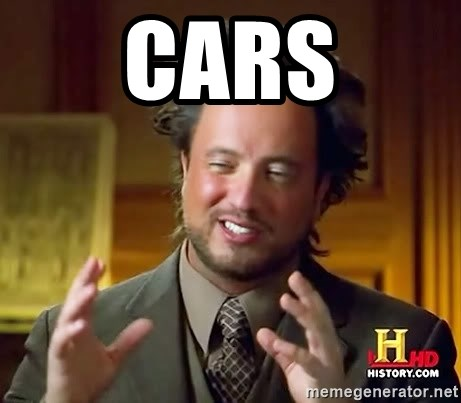 Ancient Aliens - cars