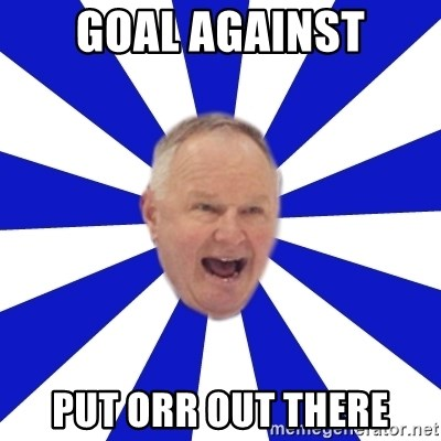 Crafty Randy - goal against put orr out there