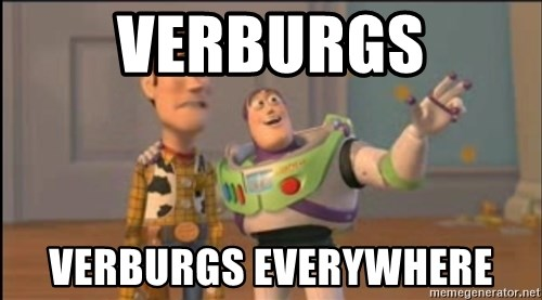 X, X Everywhere  - verburgs verburgs everywhere