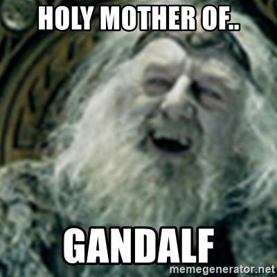 you have no power here - holy mother of.. gandalf