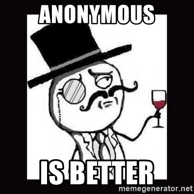 Lulzsec - anonymous is better