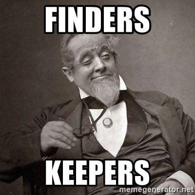 1889 [10] guy - FINDERS KEEPERS