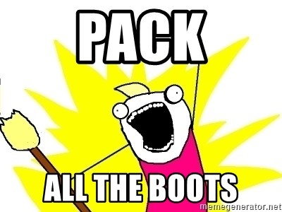 X ALL THE THINGS - Pack ALL THE BOOTS