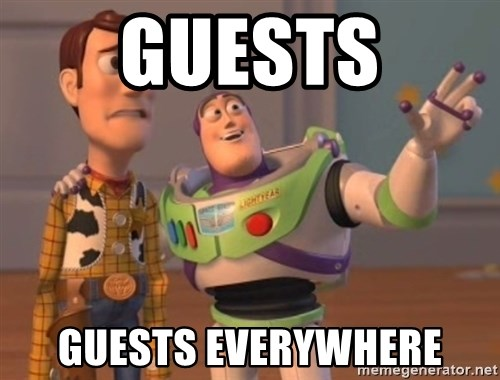 FINALES EVERYWHERE - Guests guests everywhere