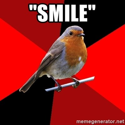 "Retail Robin - ""smile"""