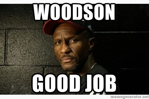 Dwane Casey's Guide to Smallball - woodson good job