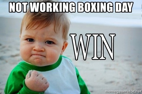 Win Baby - not working boxing day