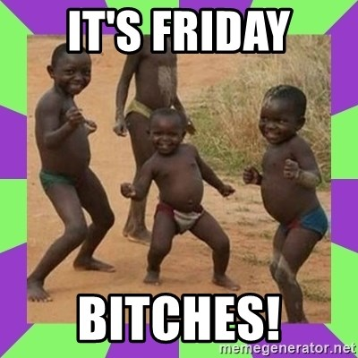 african kids dancing - IT's Friday BITcHES!