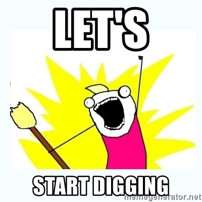 All the things - let's start digging