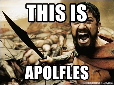 This Is Sparta Meme - THIS IS APolfles
