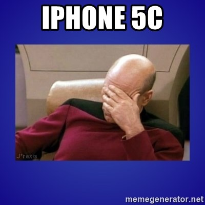 Picard facepalm  - IPHONE 5C