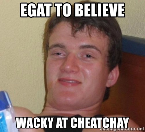 high/drunk guy - egat to believe wacky at cheatchay