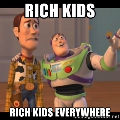 X, X Everywhere  - RICH KIDS RICH KIDS EVERYWHERE