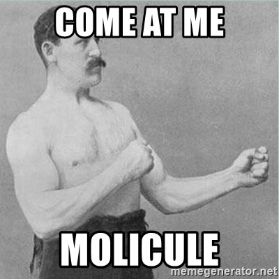 old man boxer  - come at me molicule